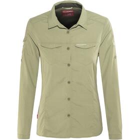 Craghoppers W's NosiLife Adventure LS Shirt Soft Moss